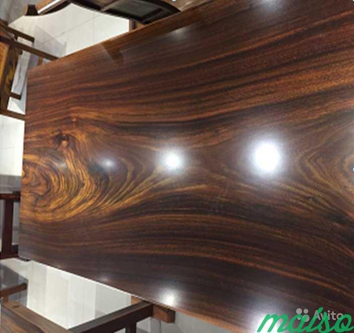 Слэб столешница SL-0023 caloocan wood 158х80х8см в Москве. Фото 1