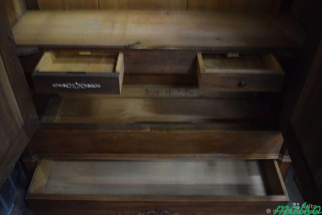 Антикварный шкаф для белья в Москве. Фото 2