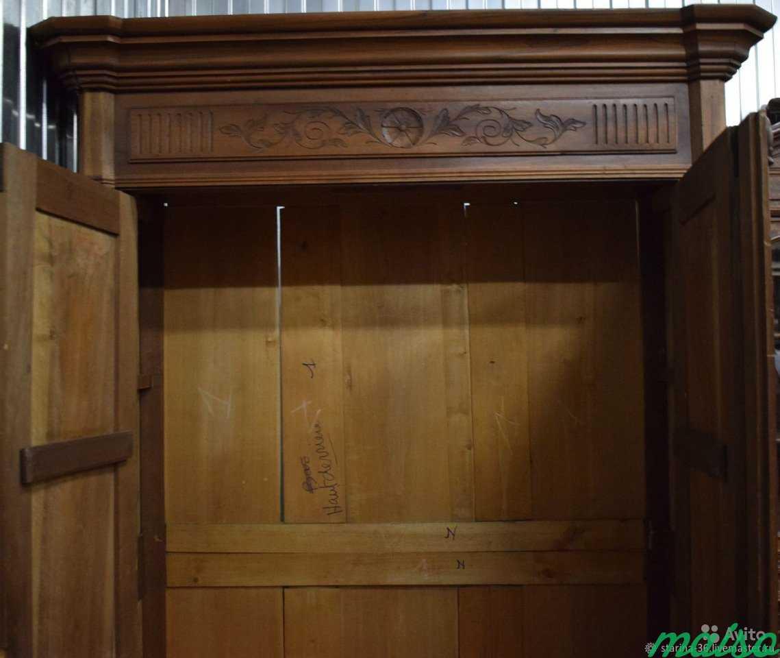 Антикварный шкаф для белья в Москве. Фото 4