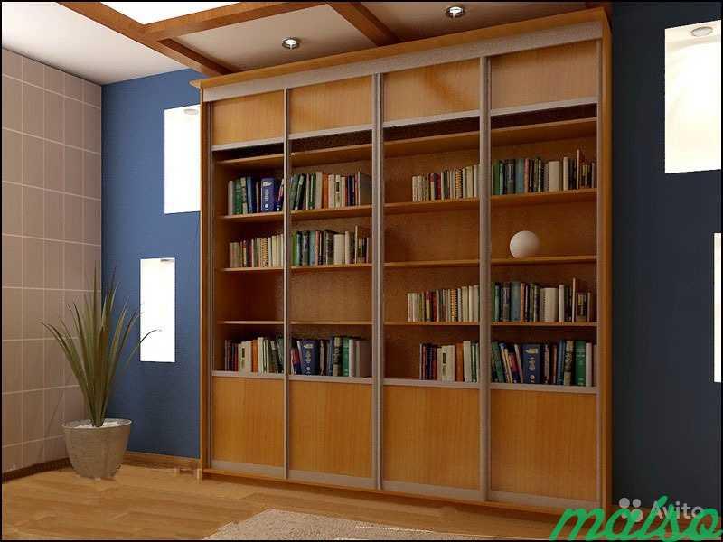 Книжный шкаф-купе 3 в Москве. Фото 1