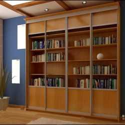 Книжный шкаф-купе 3