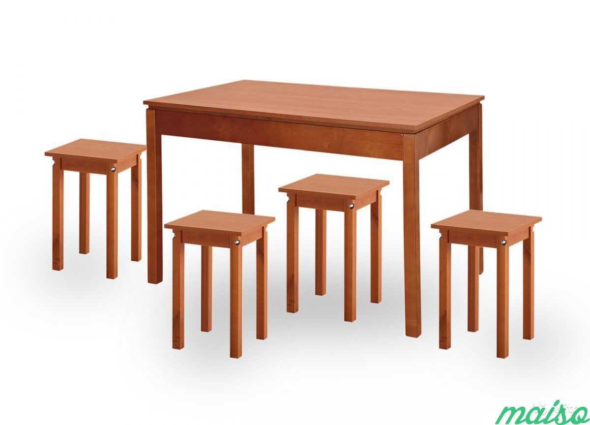 Стол + 4 табурета в Москве. Фото 1