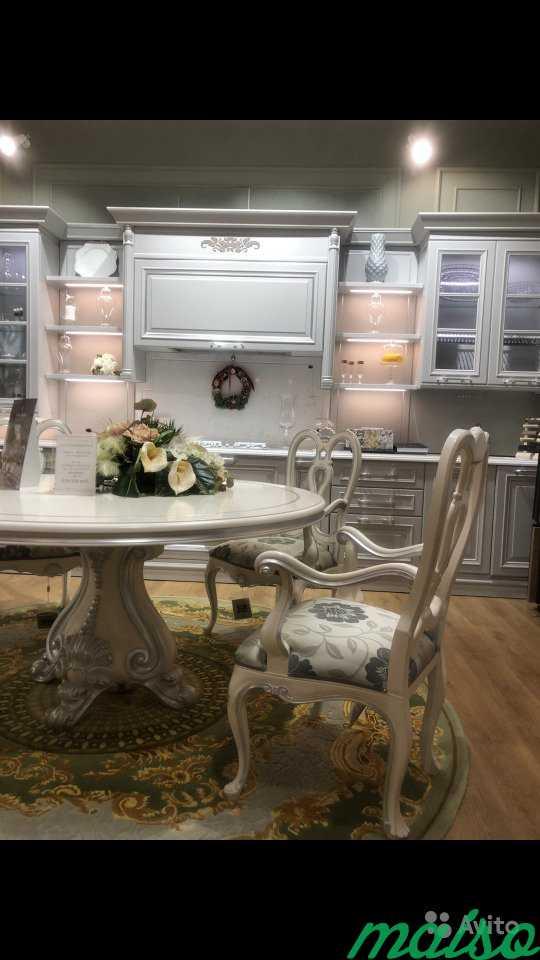 Стол и 4 кресла andrea fanfani. Италия в Москве. Фото 1