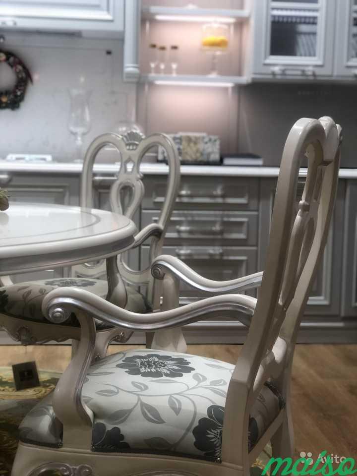 Стол и 4 кресла andrea fanfani. Италия в Москве. Фото 3