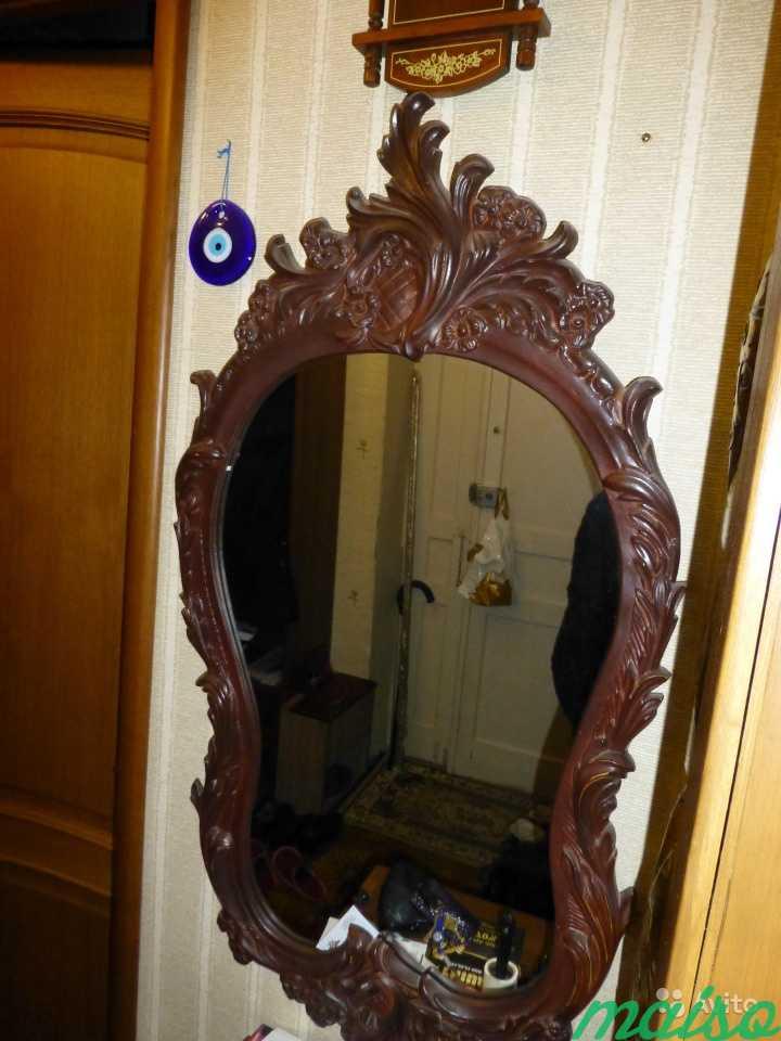 Красивое зеркало в Москве. Фото 1