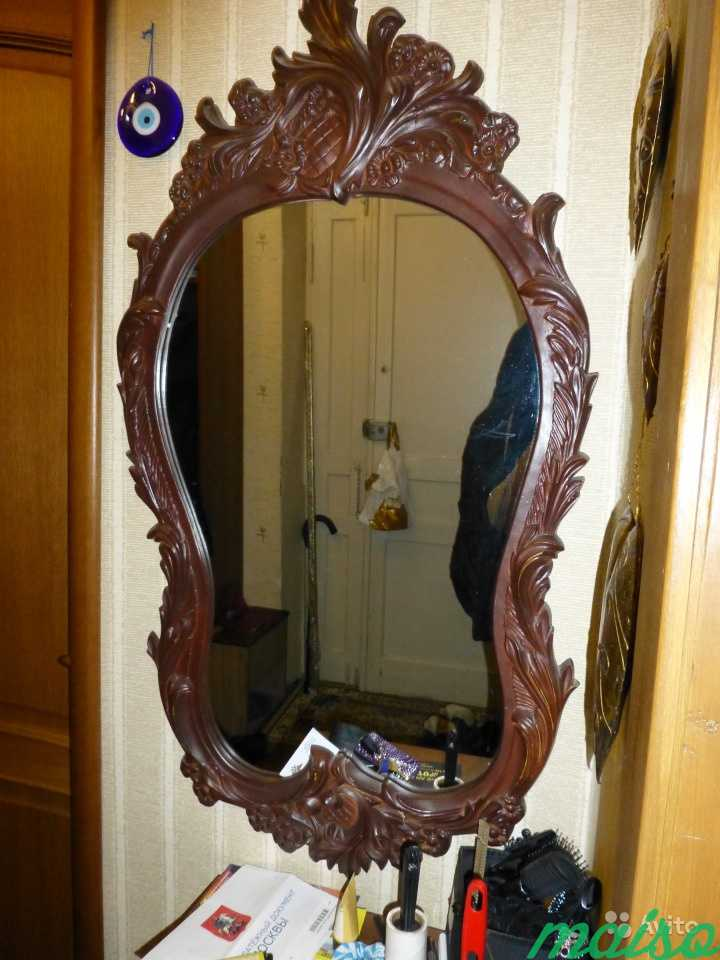 Красивое зеркало в Москве. Фото 2