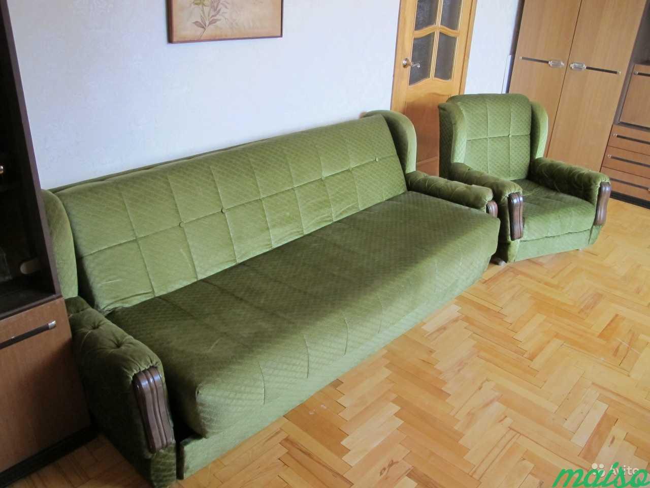Мебельная стенка симпо + диван и кресла (Югослав.) в Москве. Фото 5
