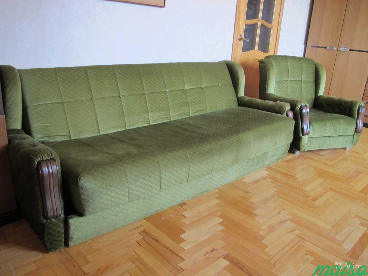 Мебельная стенка симпо + диван и кресла (Югослав.) в Москве. Фото 6