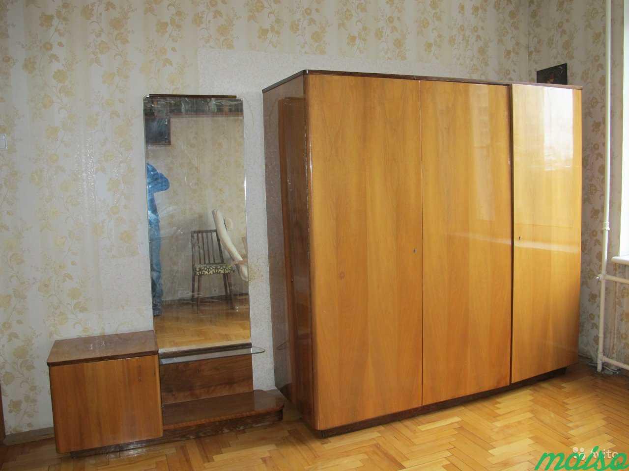 Шкаф и трюмо для спальной комнаты (Польша) в Москве. Фото 5