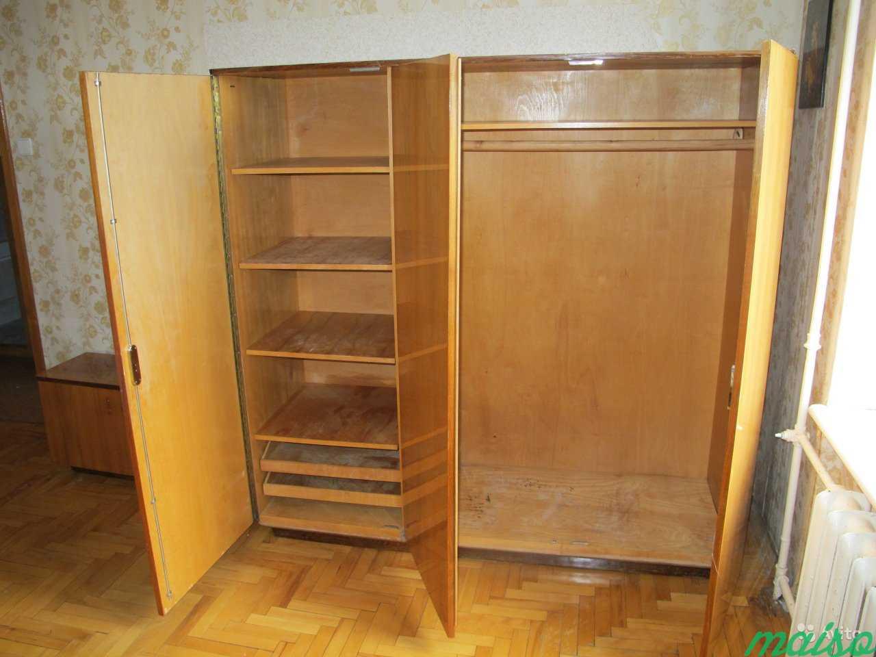 Шкаф и трюмо для спальной комнаты (Польша) в Москве. Фото 2