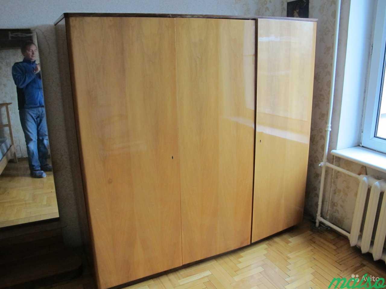 Шкаф и трюмо для спальной комнаты (Польша) в Москве. Фото 1