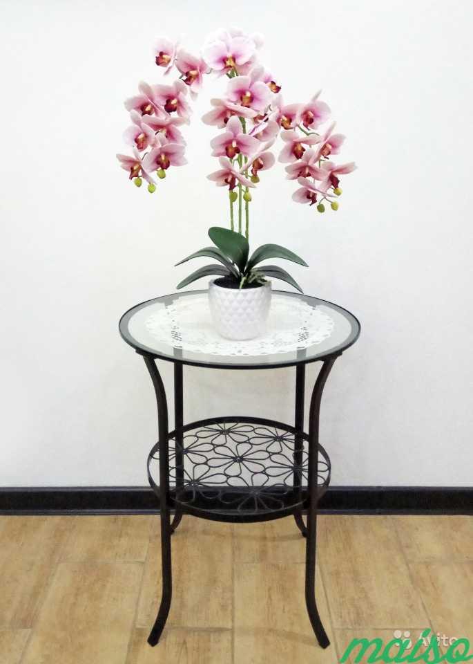 Искусственная орхидея в Москве. Фото 3