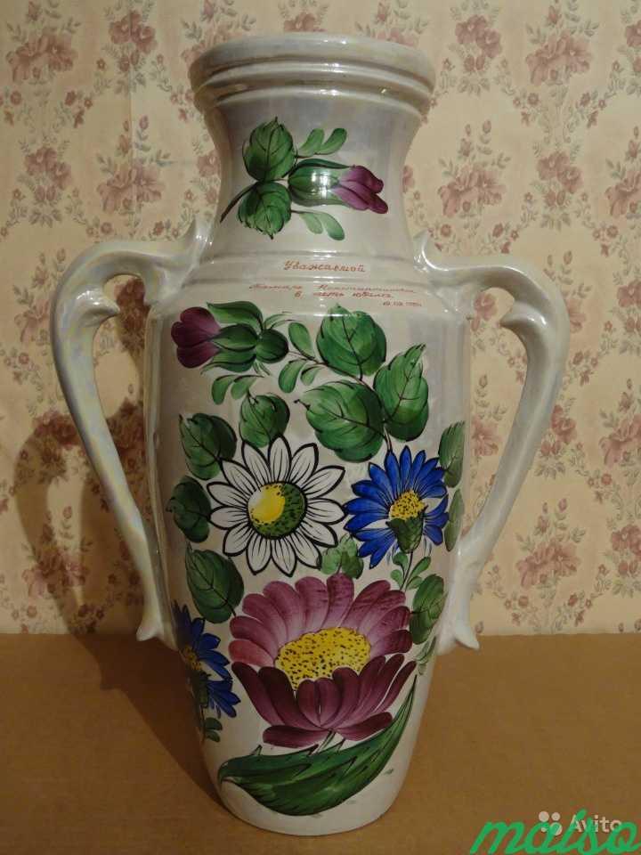 Ваза большая для цветов в Москве. Фото 3