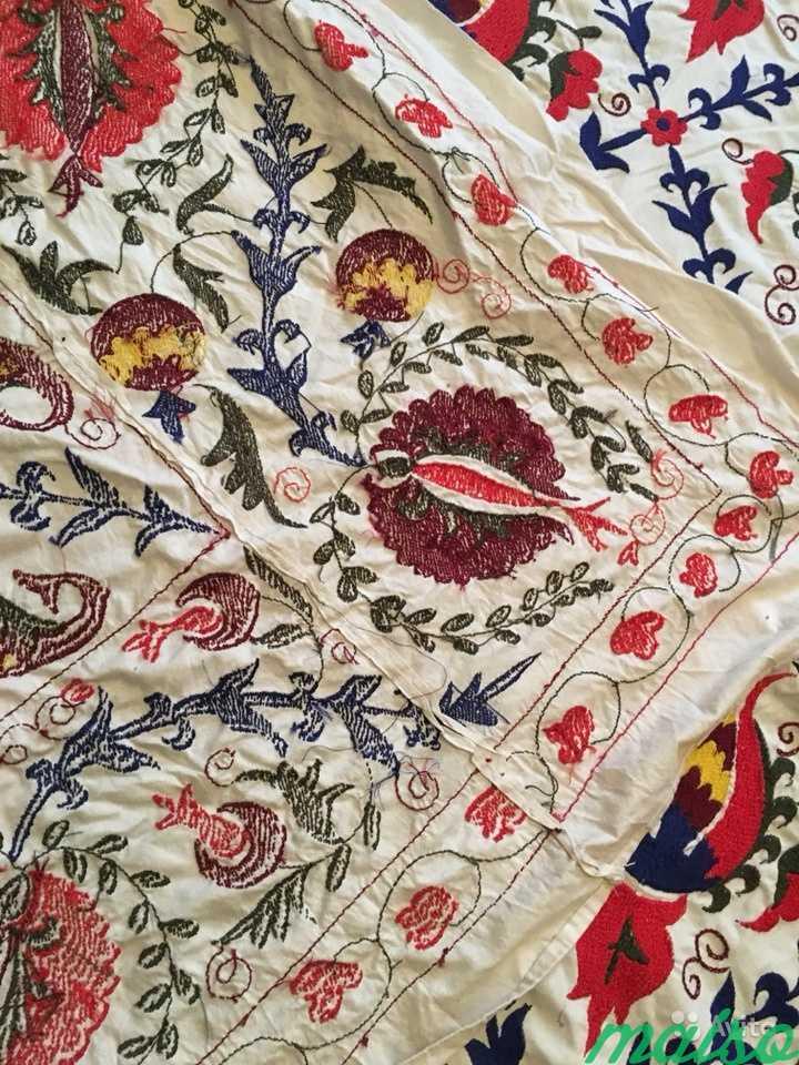 Узбекское сюзане, покрывало ручной работы в Москве. Фото 3