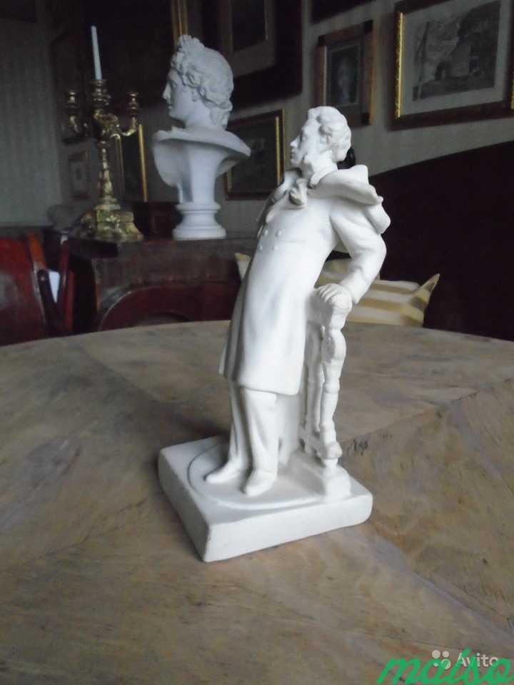 Редкая статуэтка Пушкин Бисквит в Москве. Фото 3