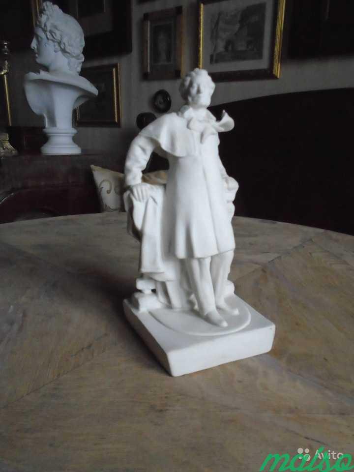 Редкая статуэтка Пушкин Бисквит в Москве. Фото 1