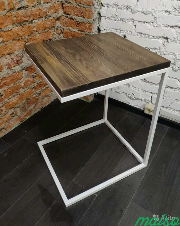 Столик подставка для ноутбука в Лофт (loft) в Москве. Фото 3