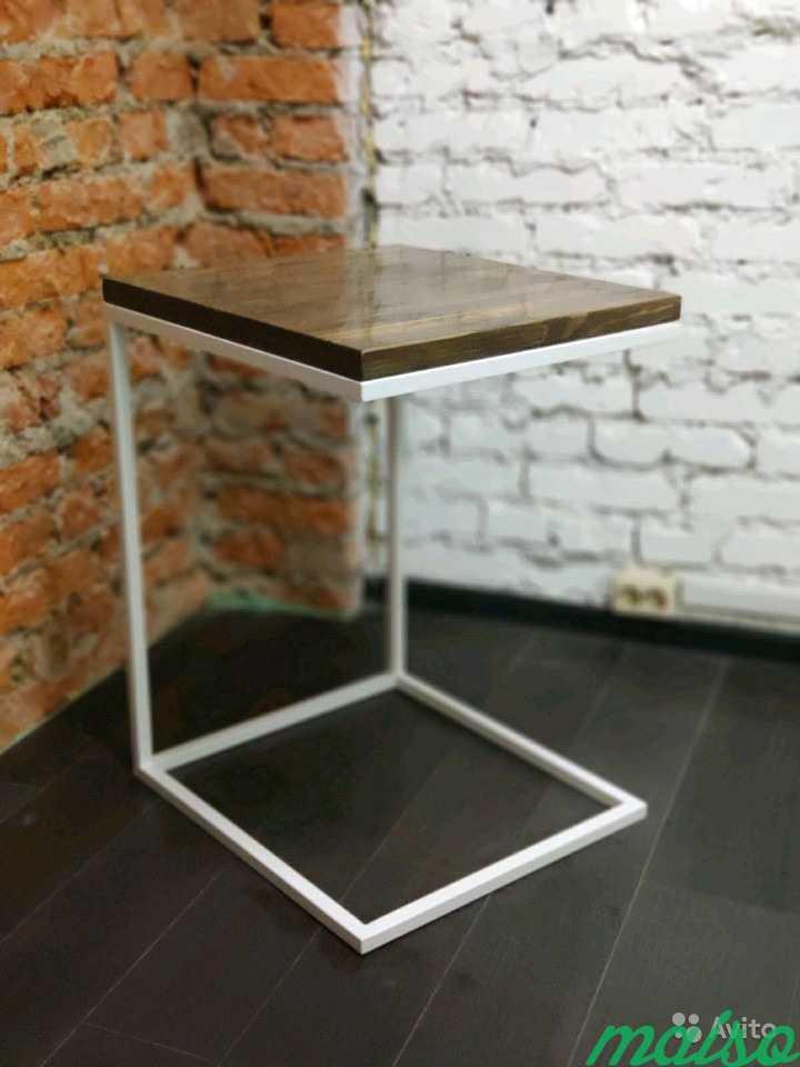 Столик подставка для ноутбука в Лофт (loft) в Москве. Фото 4