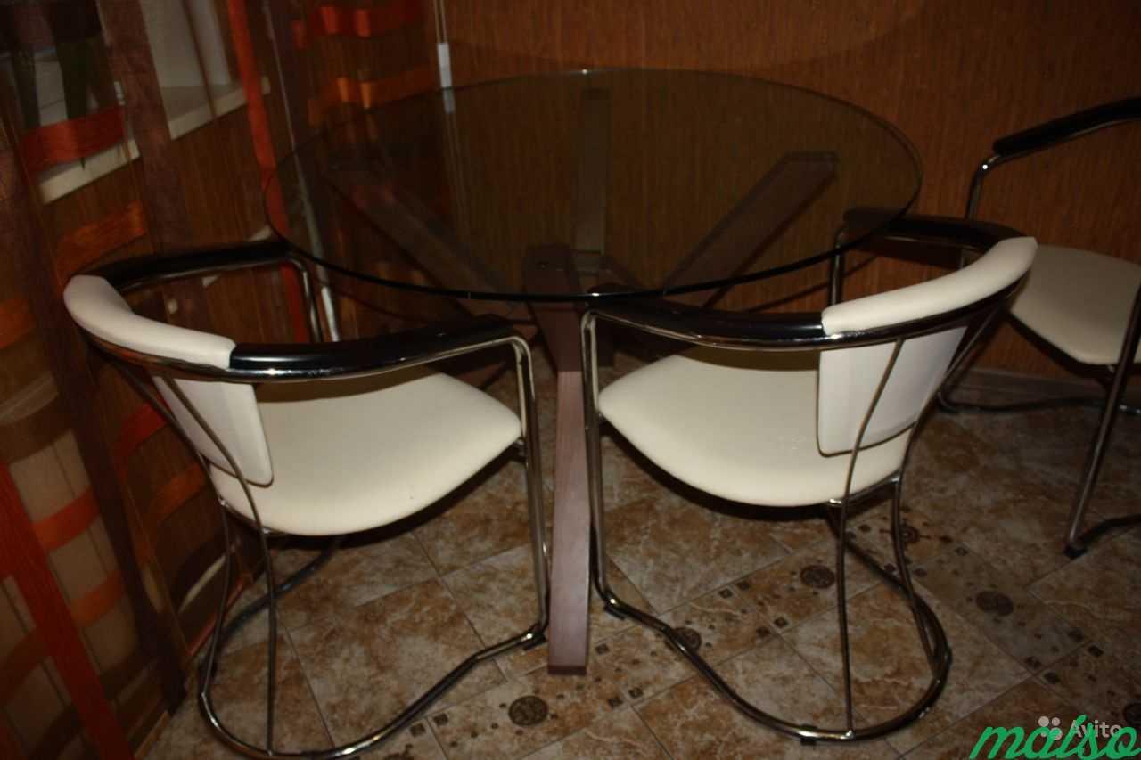 Стол в комплекте со стульями в Москве. Фото 1