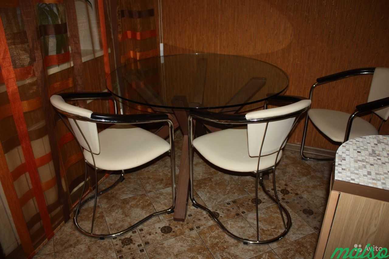Стол в комплекте со стульями в Москве. Фото 2
