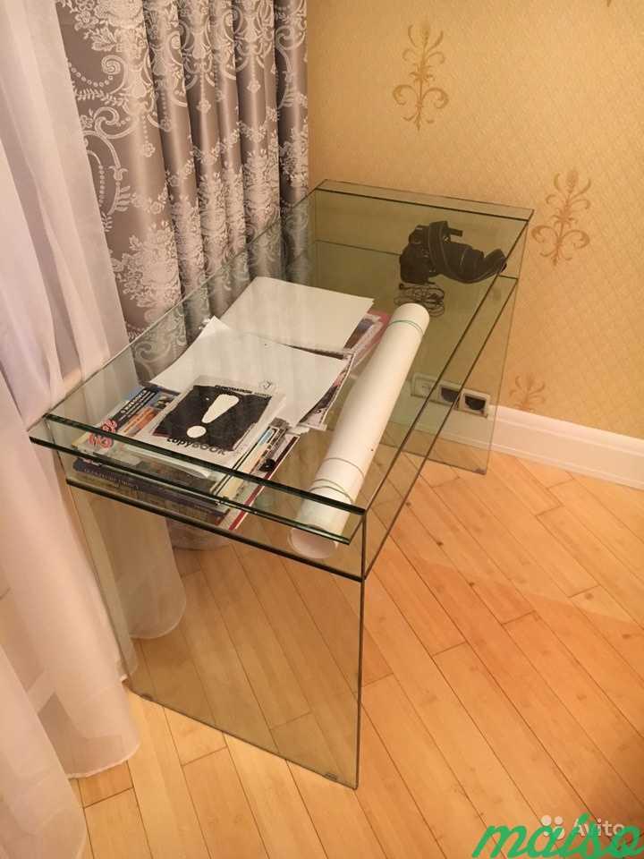 Стол стеклянный в Москве. Фото 2