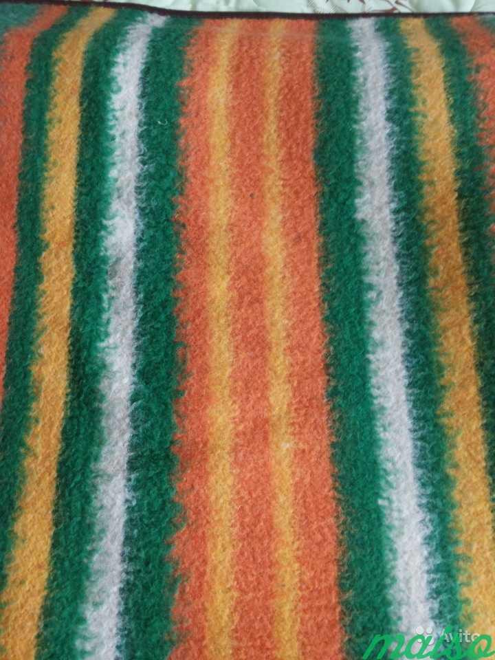 Плед одеяло шерстяной 2 шт в Москве. Фото 2