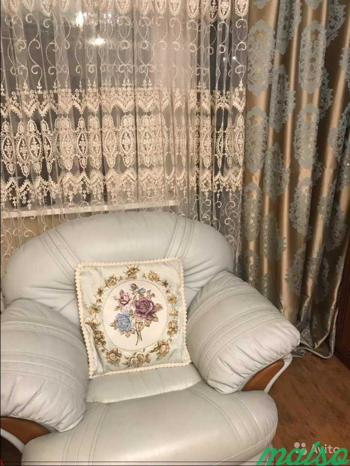 Тюль Италия объемная вышивка в Москве. Фото 2