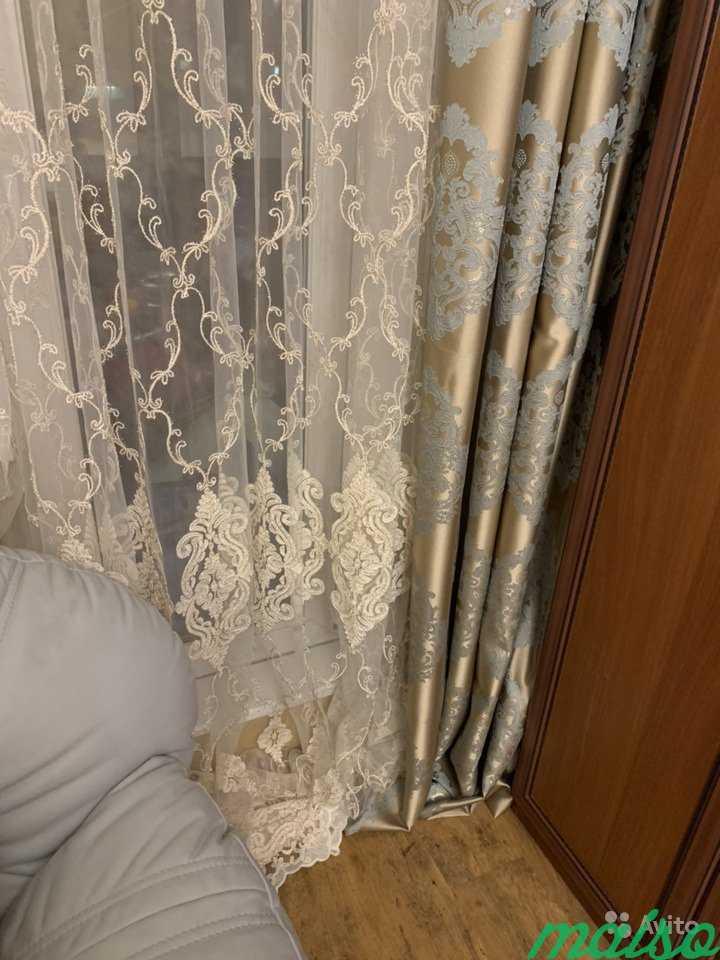 Тюль новый 3 метра высота в Москве. Фото 2