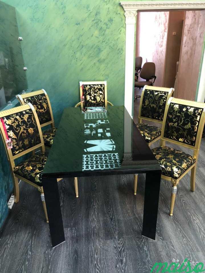 Стол и стулья в Москве. Фото 3
