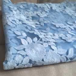 Вышивка на сетке отрез