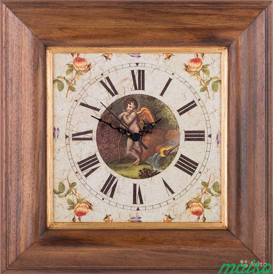 Часы настенные Ангел, Италия в Москве. Фото 1