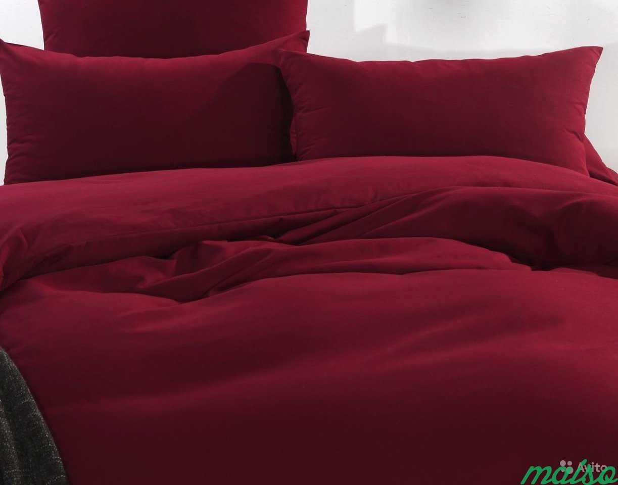 Красное постельное белье в Москве. Фото 2