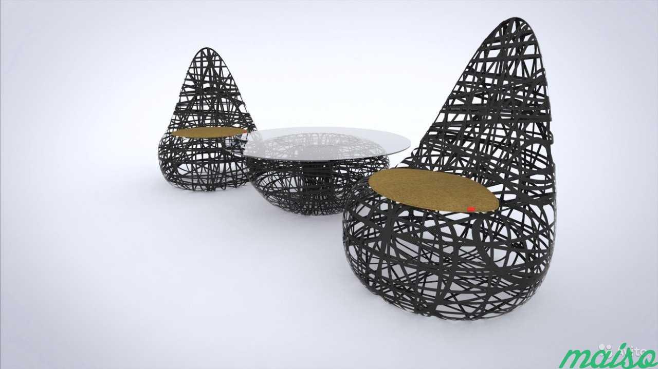 Карбоновая мебель углеволокно carbon в Москве. Фото 2
