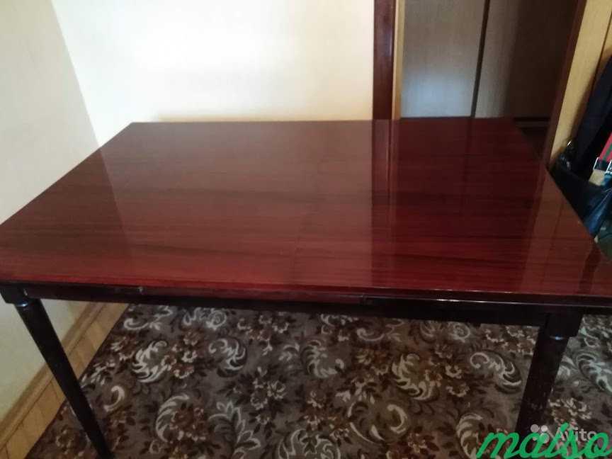 Стол обеденный для гостиной в Москве. Фото 3