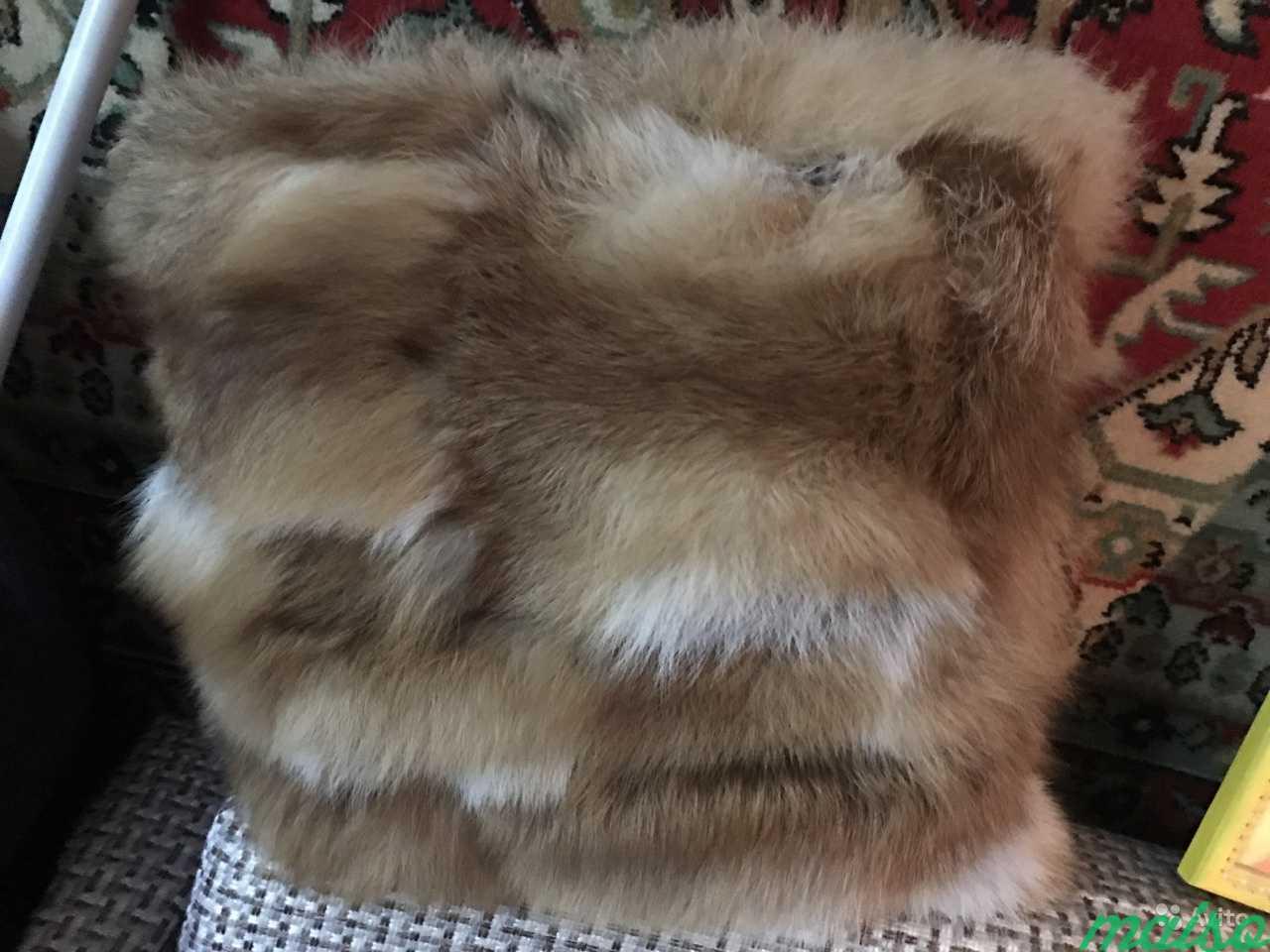 Предмет интерьера меховая подушка в Москве. Фото 1