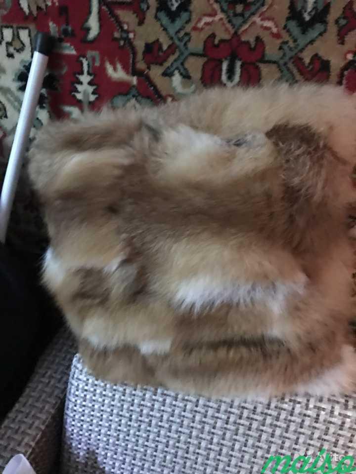 Предмет интерьера меховая подушка в Москве. Фото 2