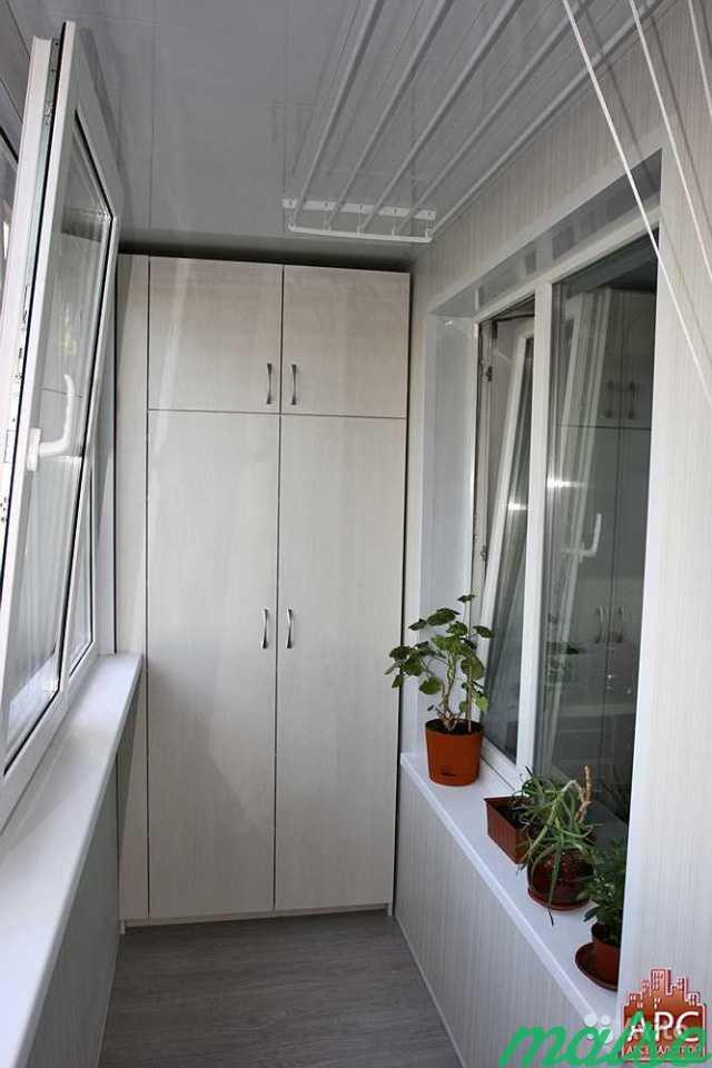 Шкаф стеллаж на балкон, лоджию в Москве. Фото 1