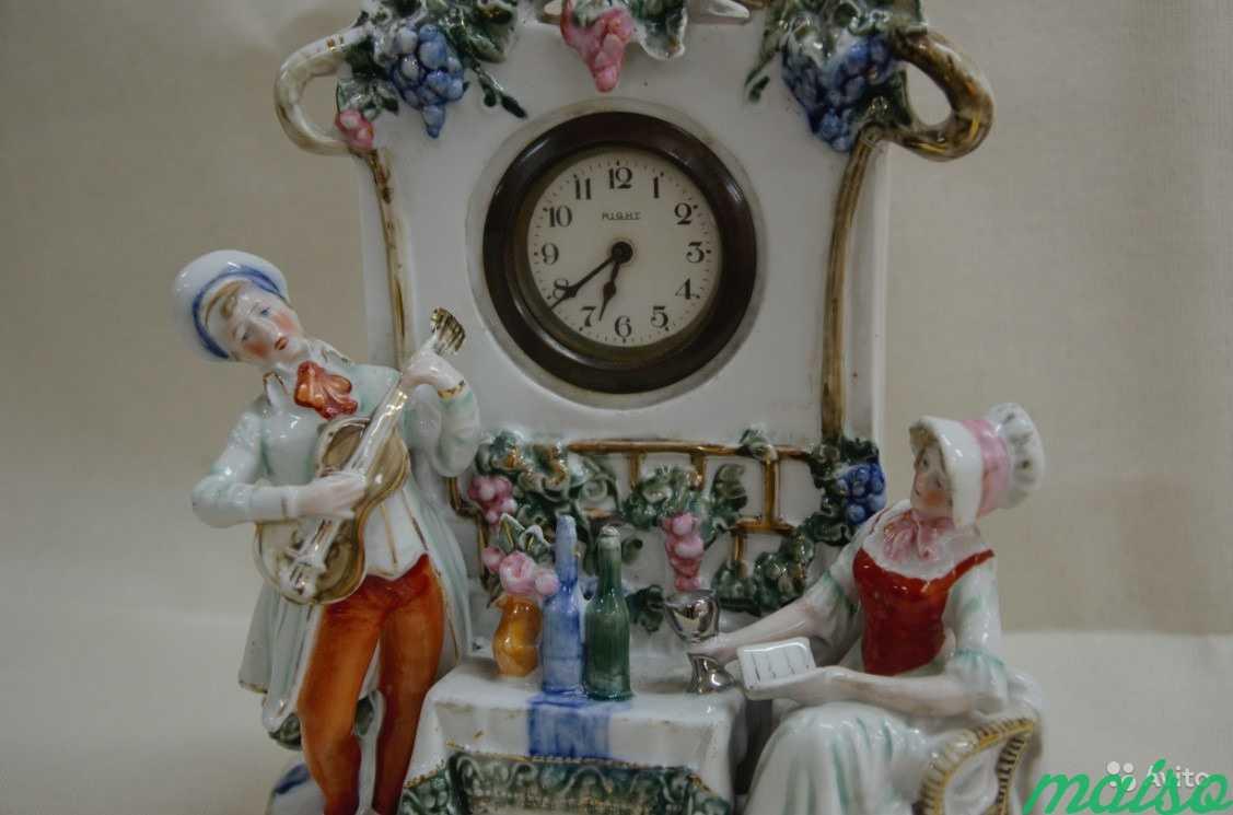 Часы каминные За столом в Москве. Фото 1
