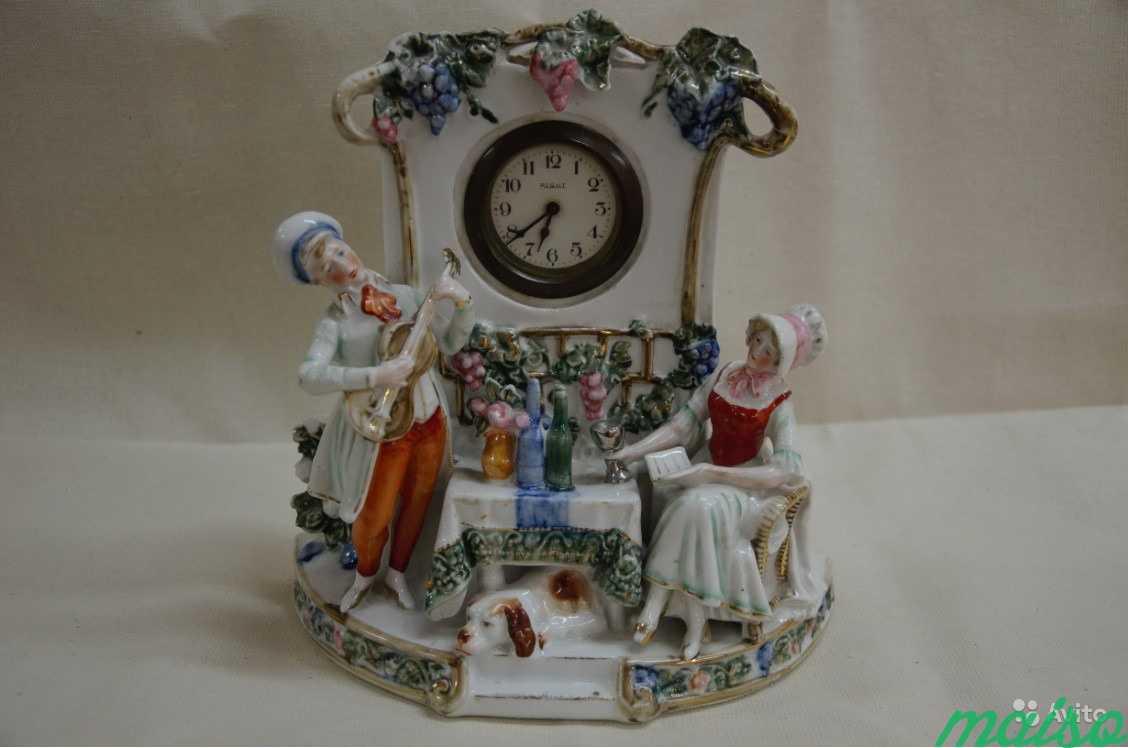 Часы каминные За столом в Москве. Фото 3