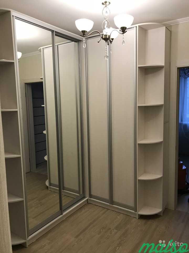 Шкаф-купе на заказ по индивидуальным размерам в Москве. Фото 1