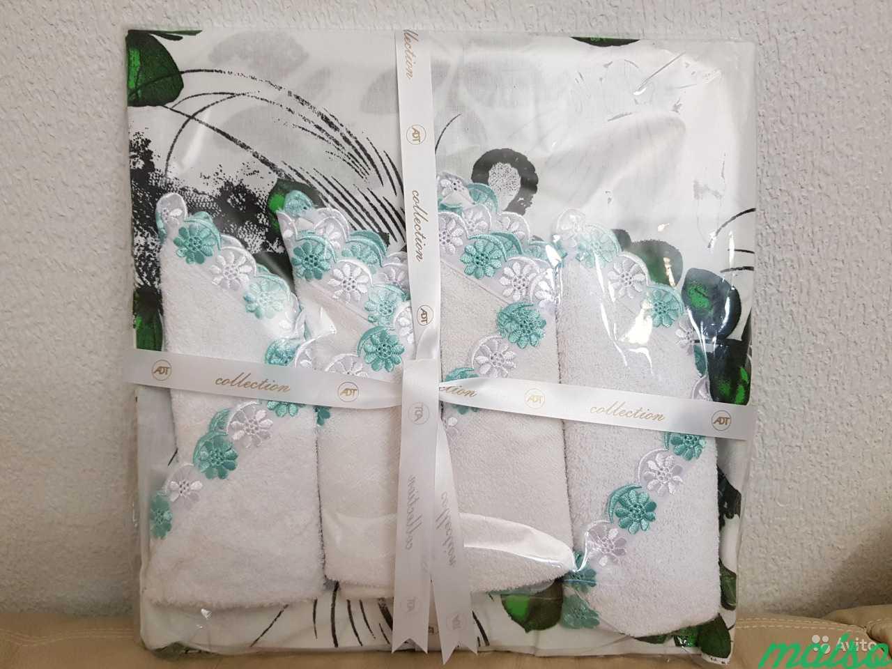 Комплект скатерть+4 салфетки хлопок в Москве. Фото 7