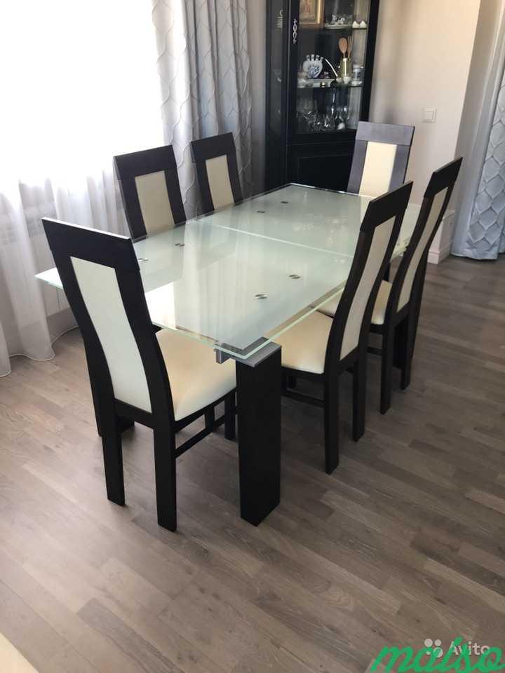 Effezeta Обеденный стол со стульями в Москве. Фото 4