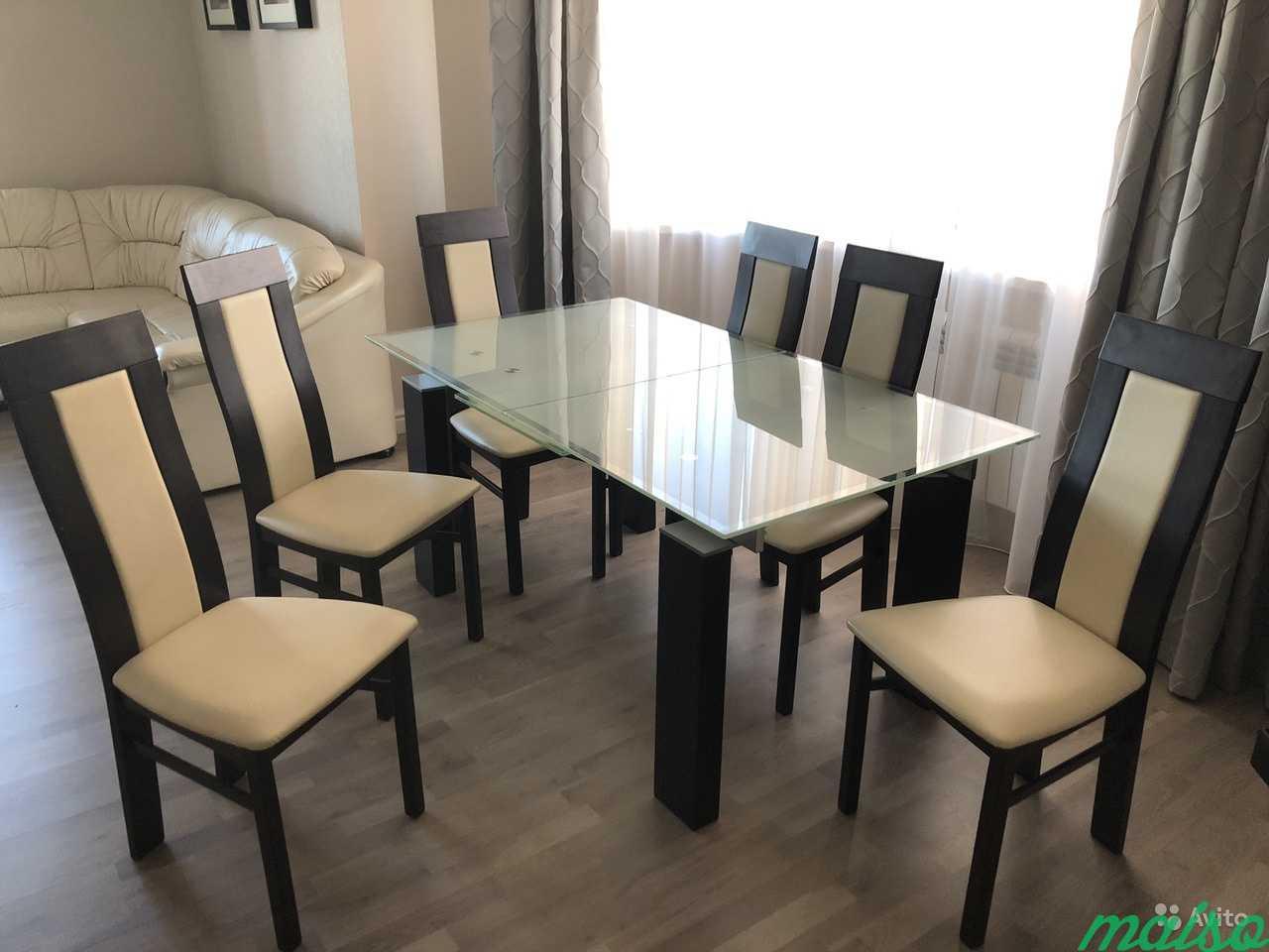 Effezeta Обеденный стол со стульями в Москве. Фото 5