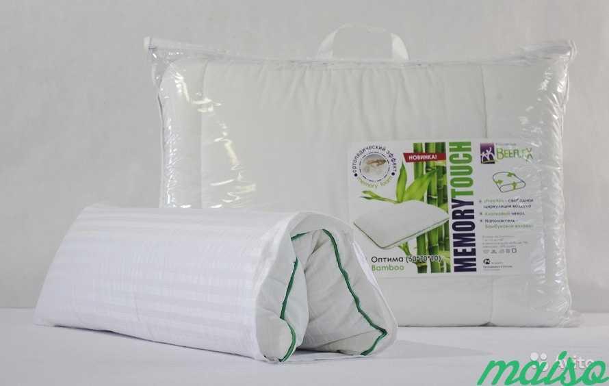 Подушка с ортопедическим эффектом Оптима 50х70х10 в Москве. Фото 2
