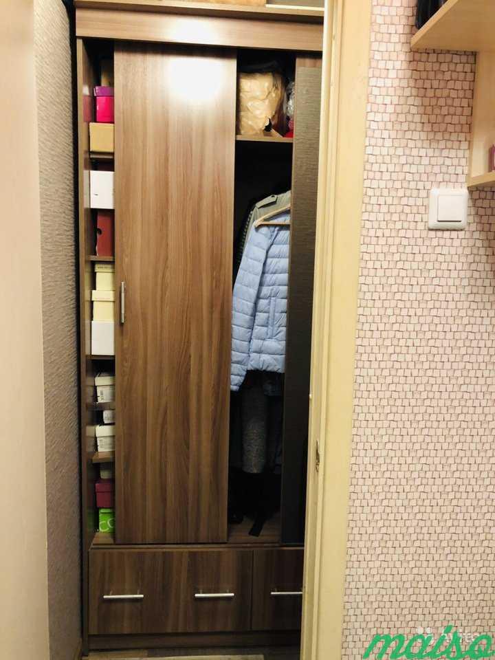 Шкаф-купе для малогабаритной квартиры в Москве. Фото 1