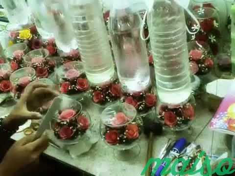 Цветы в вакууме не вянут 5лет-круглая ваза в Москве. Фото 1