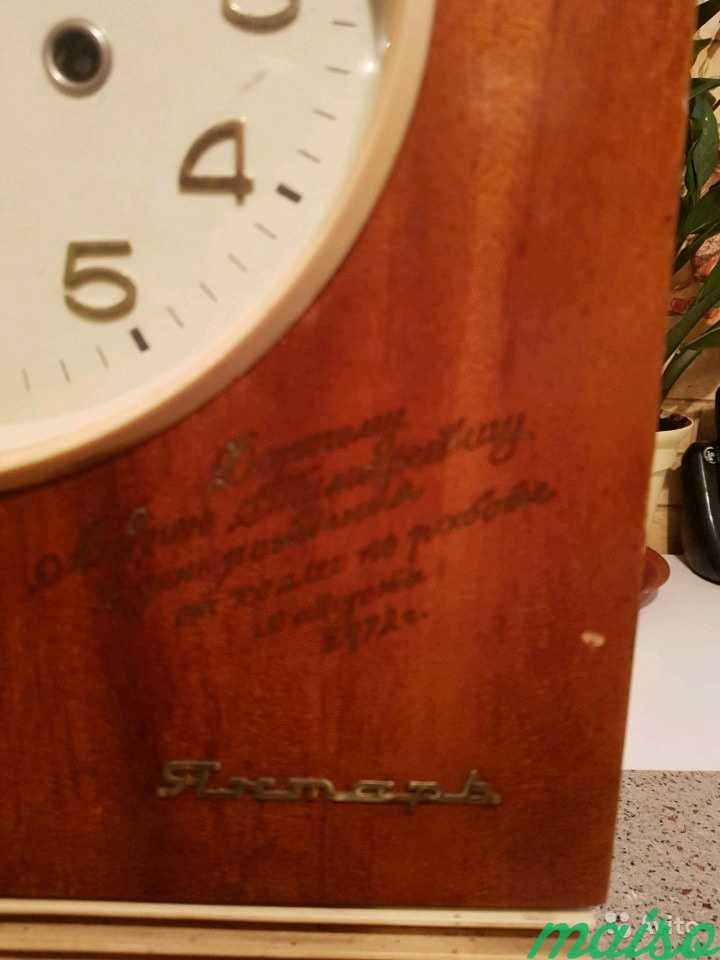 Часы настенные янтарь в Москве. Фото 2