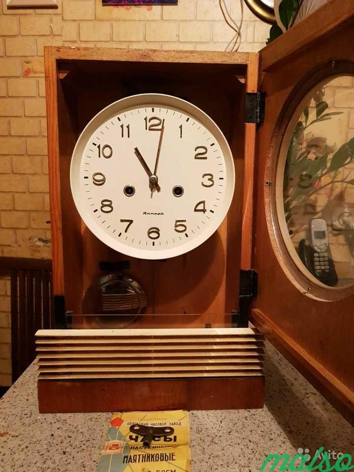 Часы настенные янтарь в Москве. Фото 4