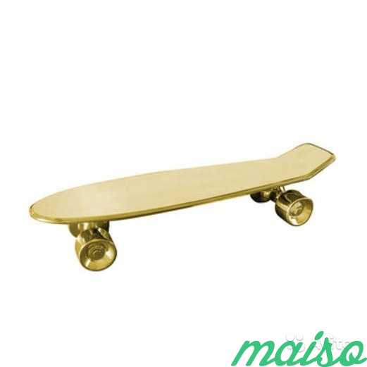 Seletti My Skateboard Limited Gold Edition в Москве. Фото 1