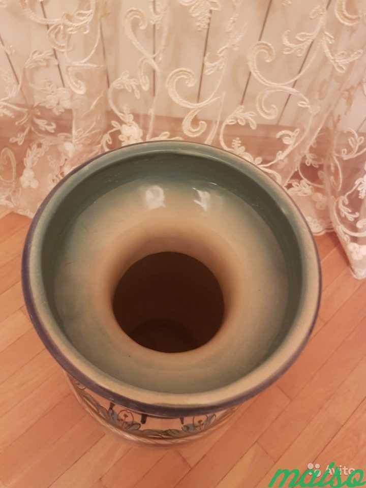 Керамическая напольная ваза в Москве. Фото 2